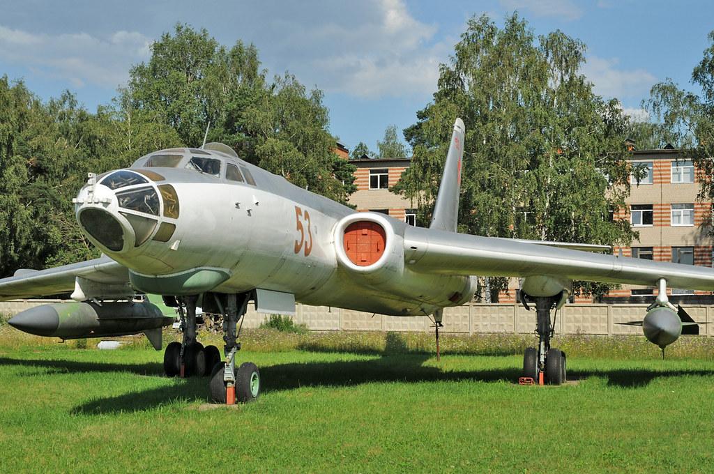 Ракетоносец Ту-16КС в экспозиции ЦМ ВВС